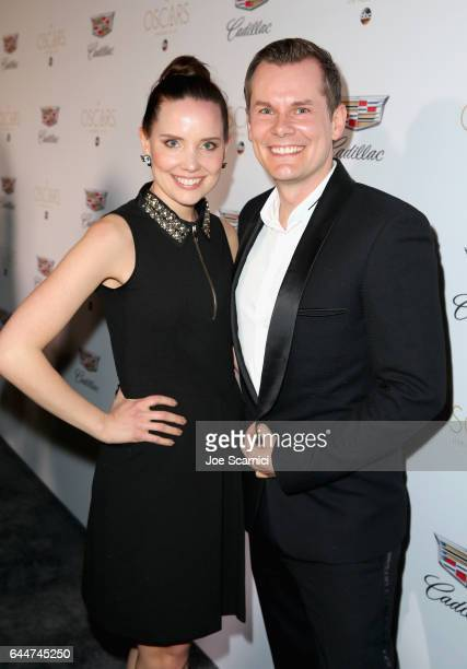 Actor AnnaMaria Arkona and Malte Arkona attend the Cadillac Oscar Week Celebration at Chateau Marmont on February 23 2017 in Los Angeles California