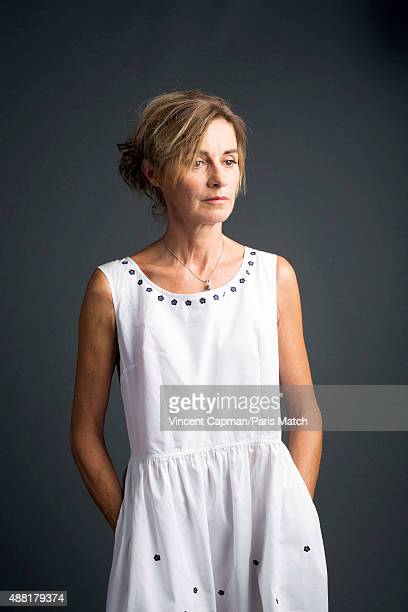 Actor Anne Consigny is photographed for Paris Match on August 31 2015 in Paris France