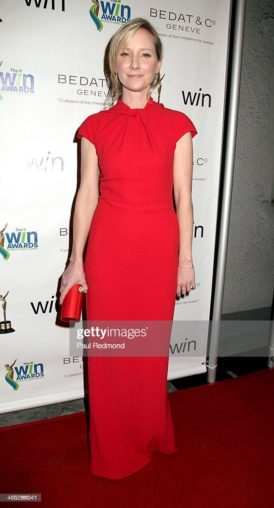 Actor Anne Heche arrives at The Annual Women's Image Awards at Santa Monica Bay Woman's Club on December 11, 2013 in Santa Monica, California.