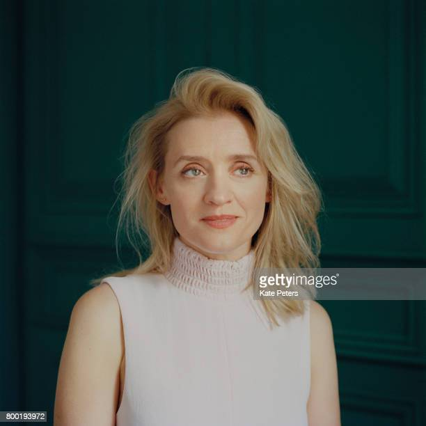 Actor Anne Marie Duff is photographed for the Telegraph on April 12 2017 in London England
