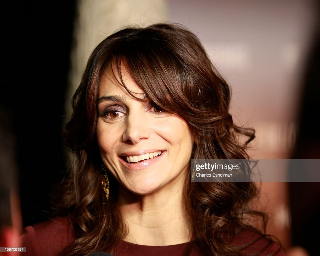 Actor Annie Parisse attends 'The Following' premiere at The New York Public Library on January 18, 2013 in New York City.