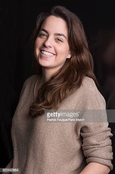 Actor Anouchka Delon is photographed for Paris Match on February 22 2016 in Paris France