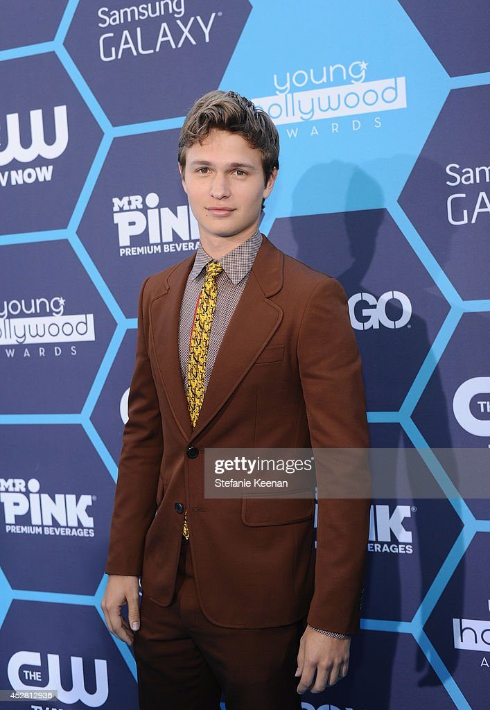 Actor <a gi-track='captionPersonalityLinkClicked' href=/galleries/search?phrase=Ansel+Elgort&family=editorial&specificpeople=9064000 ng-click='$event.stopPropagation()'>Ansel Elgort</a> attends the 2014 Young Hollywood Awards brought to you by Samsung Galaxy at The Wiltern on July 27, 2014 in Los Angeles, California.
