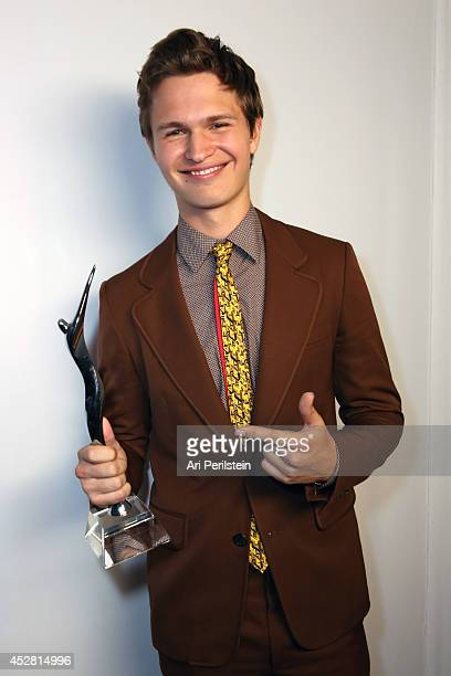 Actor Ansel Elgort attends the 2014 Young Hollywood Awards brought to you by Samsung Galaxy at The Wiltern on July 27 2014 in Los Angeles California