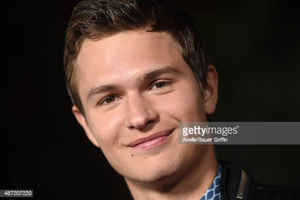Actor Ansel Elgort attends the premiere of 'Men Women and Children' at DGA Theater on September 30 2014 in Los Angeles California