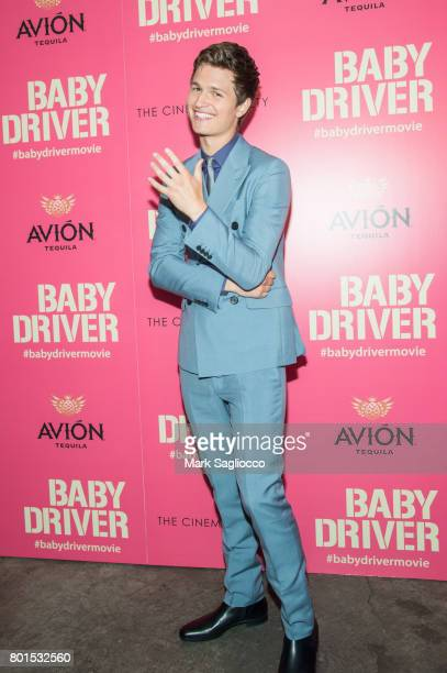 Actor Ansel Elgort attends TriStar Pictures The Cinema Society and Avion's screening of 'Baby Driver' at The Metrograph on June 26 2017 in New York...