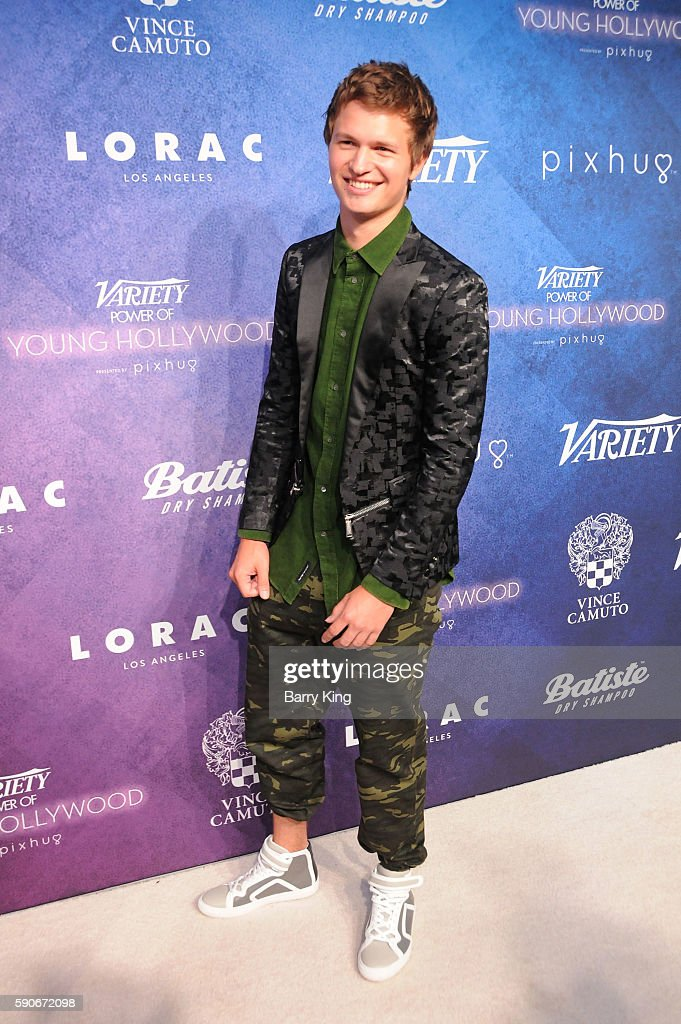 Actor Ansel Elgort attends Variety's Power of Young Hollywood event, presented by Pixhug, with Platinum Sponsor Vince Camuto at NeueHouse Hollywood on August 16, 2016 in Los Angeles, California.