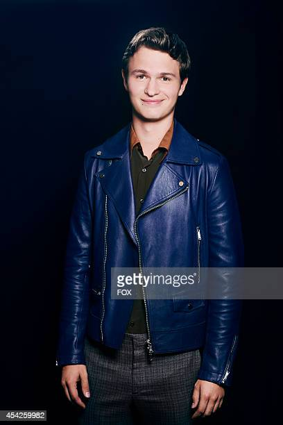 Actor Ansel Elgort is photographed at the Fox 2014 Teen Choice Awards at The Shrine Auditorium on August 10 2014 in Los Angeles California