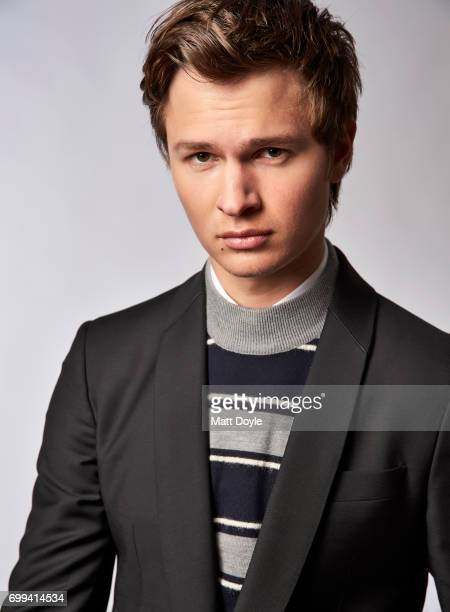 Actor Ansel Elgort is photographed for Back Stage on April 6 in New York City
