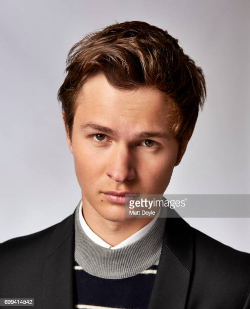 Actor Ansel Elgort is photographed for Back Stage on April 6 in New York City PUBLISHED COVER
