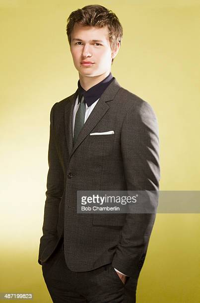 Actor Ansel Elgort is photographed for Los Angeles Times on April 14 2014 in Beverly Hills California PUBLISHED IMAGE CREDIT MUST READ Bob...