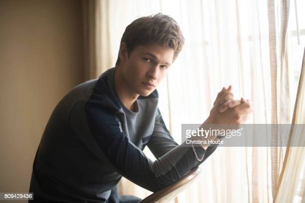 Actor Ansel Elgort is photographed for Los Angeles Times on June 11 2017 in Los Angeles California PUBLISHED IMAGE CREDIT MUST READ Christina...
