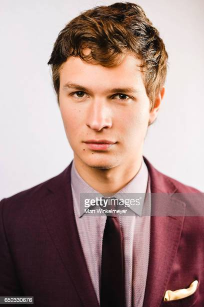 Actor Ansel Elgort poses for a portrait during the 'Baby Driver' premiere 2017 SXSW Conference and Festivals on March 11 2017 in Austin Texas