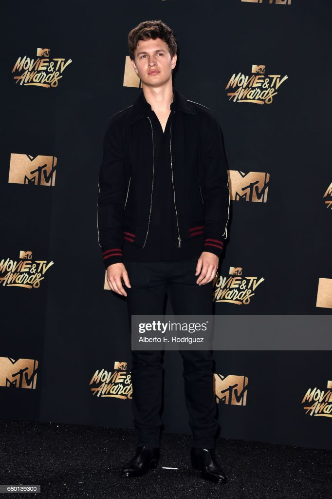 Actor Ansel Elgort poses in the press room during the 2017 MTV Movie And TV Awards at The Shrine Auditorium on May 7, 2017 in Los Angeles, California.
