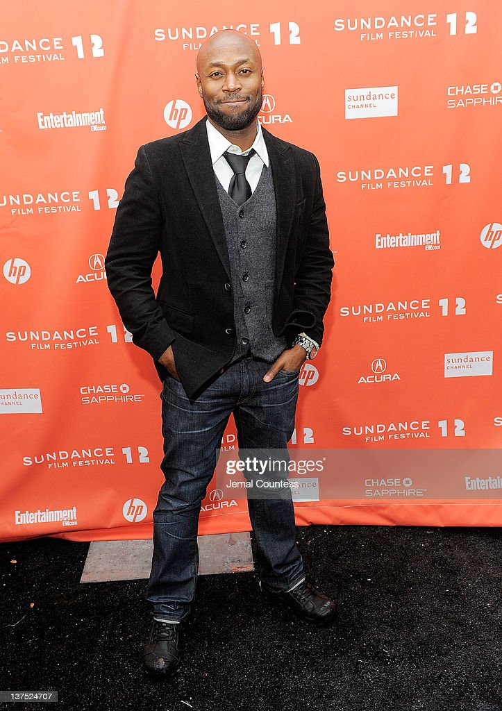 Actor Anselm Richardson attends the 'Black Rock' premiere during the 2012 Sundance Film Festival held at Library Center Theater on January 21, 2012 in Park City, Utah.