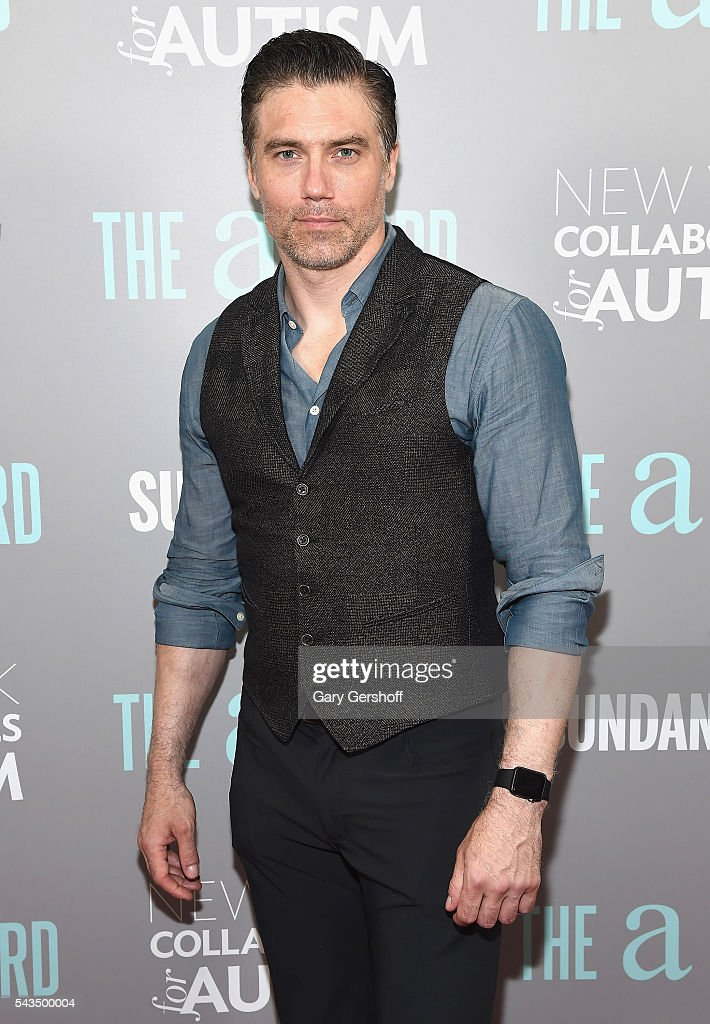 Actor <a gi-track='captionPersonalityLinkClicked' href=/galleries/search?phrase=Anson+Mount&family=editorial&specificpeople=691952 ng-click='$event.stopPropagation()'>Anson Mount</a> attends 'The A Word' New York screening at Museum Of Arts And Design on June 28, 2016 in New York City.