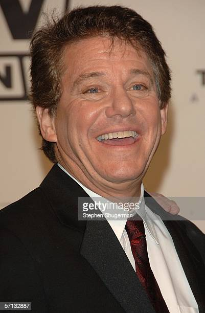 Actor Anson Williams of 'Happy Days' poses in the press room at the 2006 TV Land Awards at the Barker Hangar on March 19 2006 in Santa Monica...