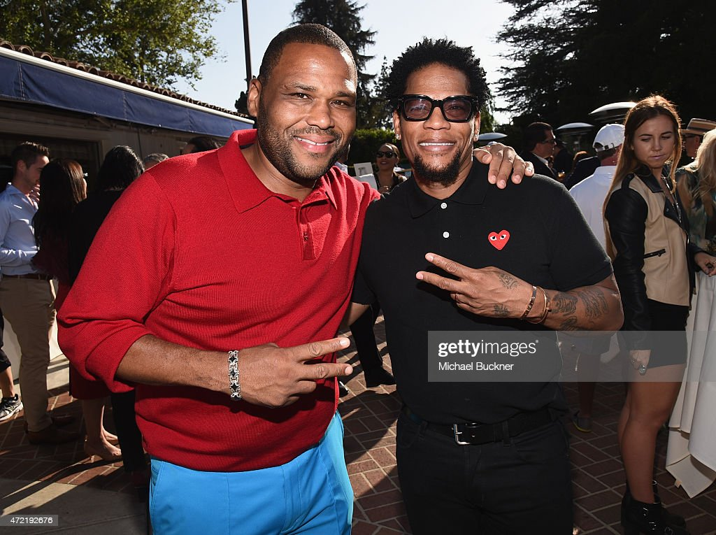 Actor Anthony Anderson and comedian D L Hughley attended the 8th Annual George Lopez Celebrity Golf Classic presented by Sabra Salsa to benefit The...