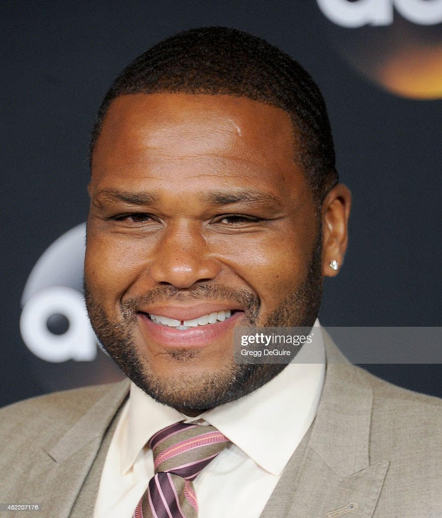 Actor <a gi-track='captionPersonalityLinkClicked' href=/galleries/search?phrase=Anthony+Anderson&family=editorial&specificpeople=202577 ng-click='$event.stopPropagation()'>Anthony Anderson</a> arrives at the 2014 Television Critics Association Summer Press Tour - Disney/ABC Television Group at The Beverly Hilton Hotel on July 15, 2014 in Beverly Hills, California.