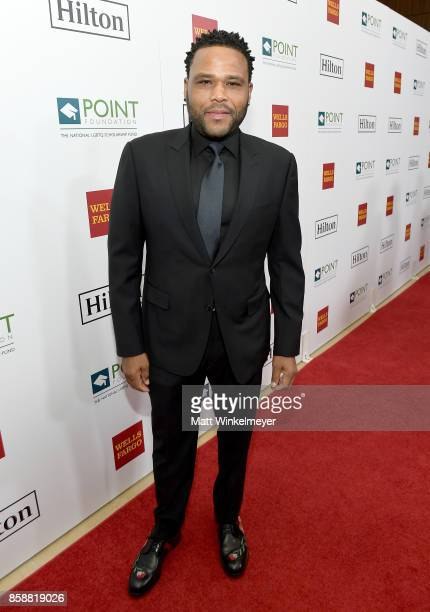 Actor Anthony Anderson at Point Honors Los Angeles 2017 benefiting Point Foundation at The Beverly Hilton Hotel on October 7 2017 in Beverly Hills...