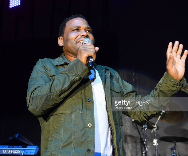 Actor Anthony Anderson attends 48th NAACP Image Awards After Party at Pasadena Civic Auditorium on February 11 2017 in Pasadena California