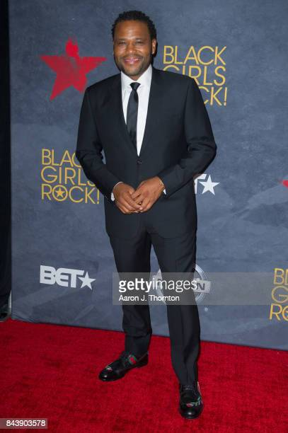 Actor Anthony Anderson attends Black Girls Rock at New Jersey Performing Arts Center on August 5 2017 in Newark New Jersey