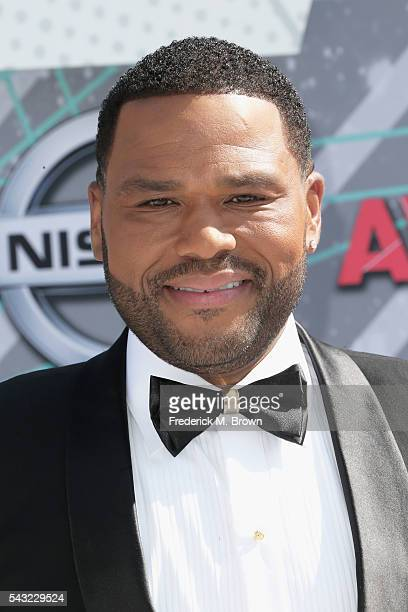 Actor Anthony Anderson attends the 2016 BET Awards at the Microsoft Theater on June 26 2016 in Los Angeles California