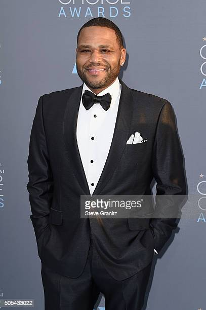 Actor Anthony Anderson attends the 21st Annual Critics' Choice Awards at Barker Hangar on January 17 2016 in Santa Monica California