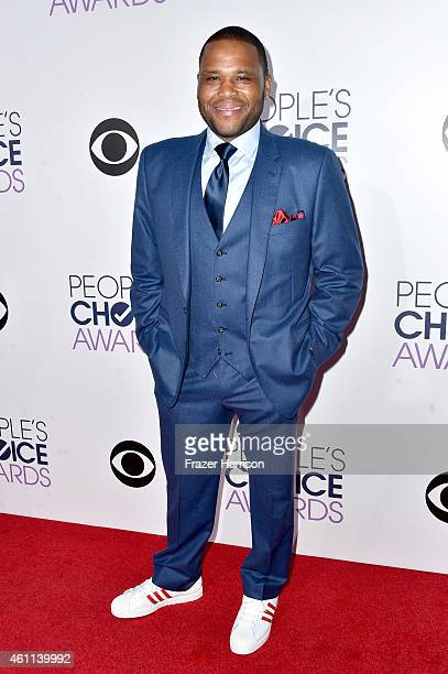 Actor Anthony Anderson attends The 41st Annual People's Choice Awards at Nokia Theatre LA Live on January 7 2015 in Los Angeles California