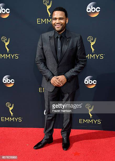 Actor Anthony Anderson attends the 68th Annual Primetime Emmy Awards at Microsoft Theater on September 18 2016 in Los Angeles California