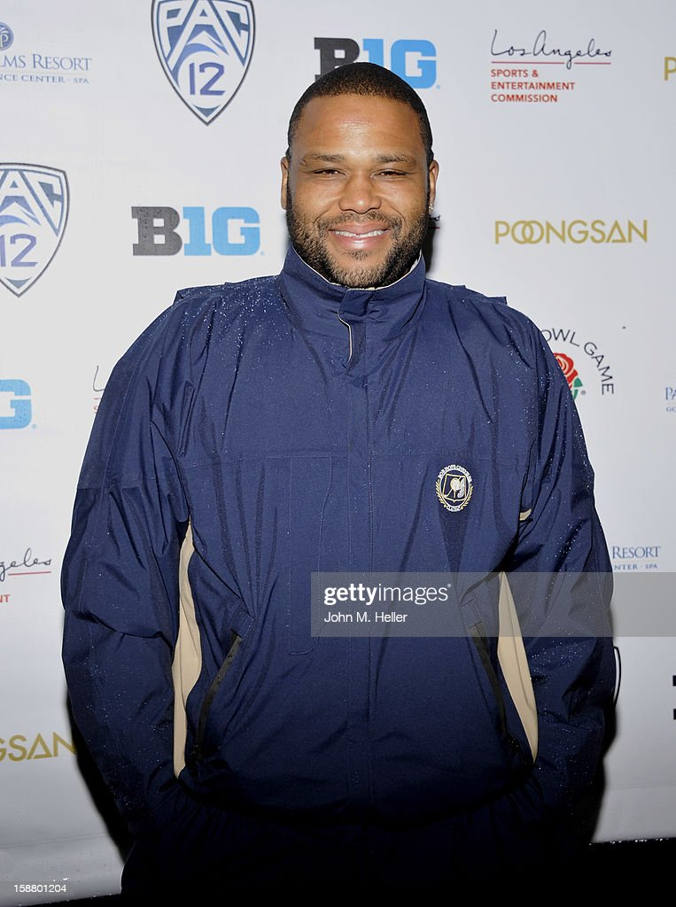 Actor Anthony Anderson attends the first annual Rose Bowl Golf Classic at the Pacific Palms Resort & Hotel on December 29, 2012 in City of Industry, California.
