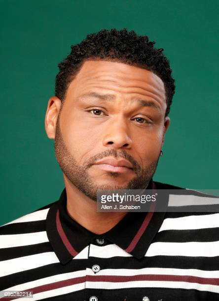 Actor Anthony Anderson is photographed for Los Angeles Times on June 1 2017 in Los Angeles California PUBLISHED IMAGE CREDIT MUST READ Allen J...