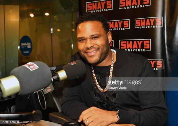 Actor Anthony Anderson visits Sway's at SiriusXM Studios on November 16 2017 in New York City