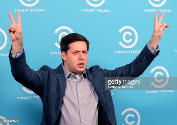 Actor Anthony Atamanuik of 'The President's Show' attends Comedy Central's LA Press Day at Viacom Building on May 23 2017 in Los Angeles California