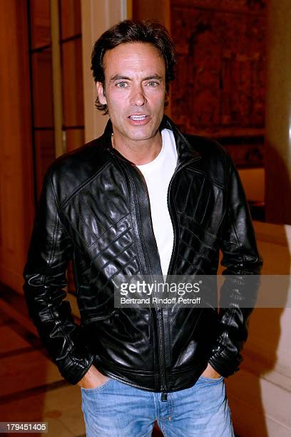 Actor Anthony Delon attends Lui Magazine Launch Party held at Foch Avenue in Paris at on September 3 2013 in Paris France