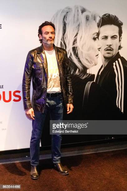 Actor Anthony Delon attends the 'Tout nous separe' Premiere at UGC Cine Cite Bercy on October 19 2017 in Paris France