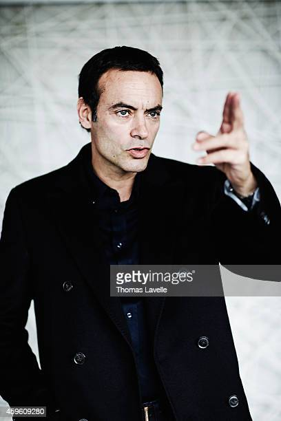 Actor Anthony Delon is photographed for Self Assignment on November 20 2014 in Paris France