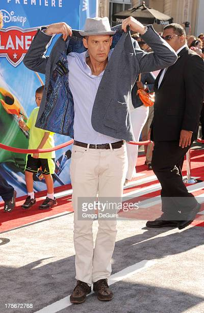 Actor Anthony Edwards arrives at the Los Angeles premiere of 'Planes' at the El Capitan Theatre on August 5 2013 in Hollywood California
