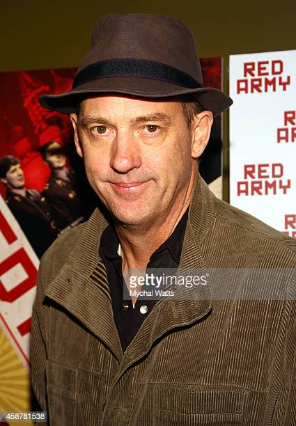Actor Anthony Edwards attend the 'Red Army' New York Screening at Sunshine Landmark on November 10 2014 in New York City