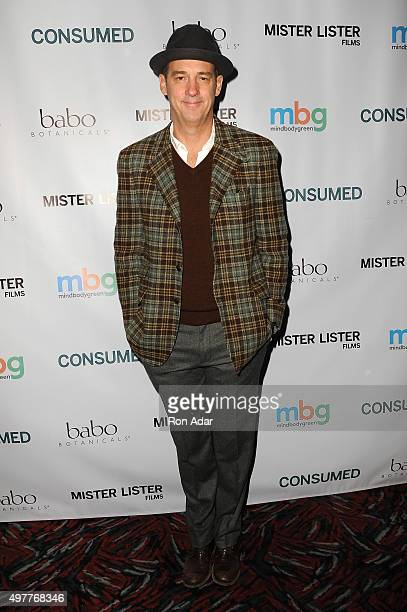 Actor Anthony Edwards attends the 'Consumed' New York Premiere at AMC Loews 19th Street Theater on November 18 2015 in New York City
