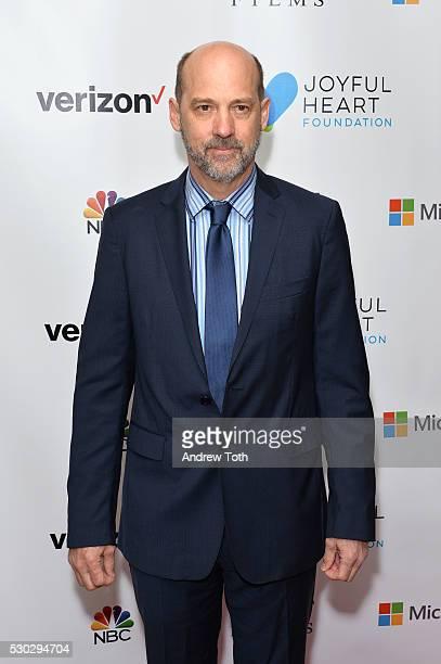 Actor Anthony Edwards attends the Joyful Heart Foundation honors Vice President Joe Biden at Joyful Revolution Gala on May 10 2016 in New York New...