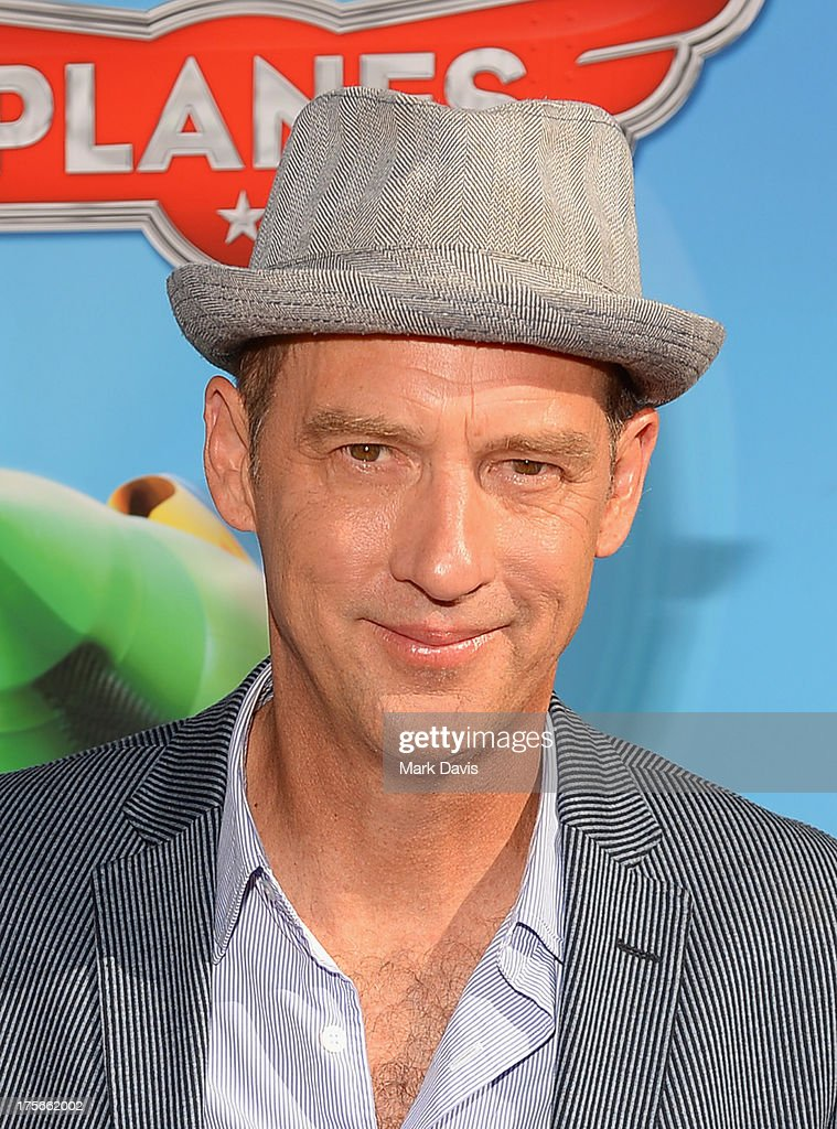 Actor Anthony Edwards attends the premiere of Disney's 'Planes' at the El Capitan Theatre on August 5, 2013 in Hollywood, California.