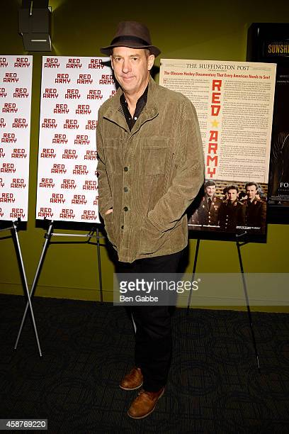 Actor Anthony Edwards attends the 'Red Army' New York Screening at Sunshine Landmark on November 10 2014 in New York City