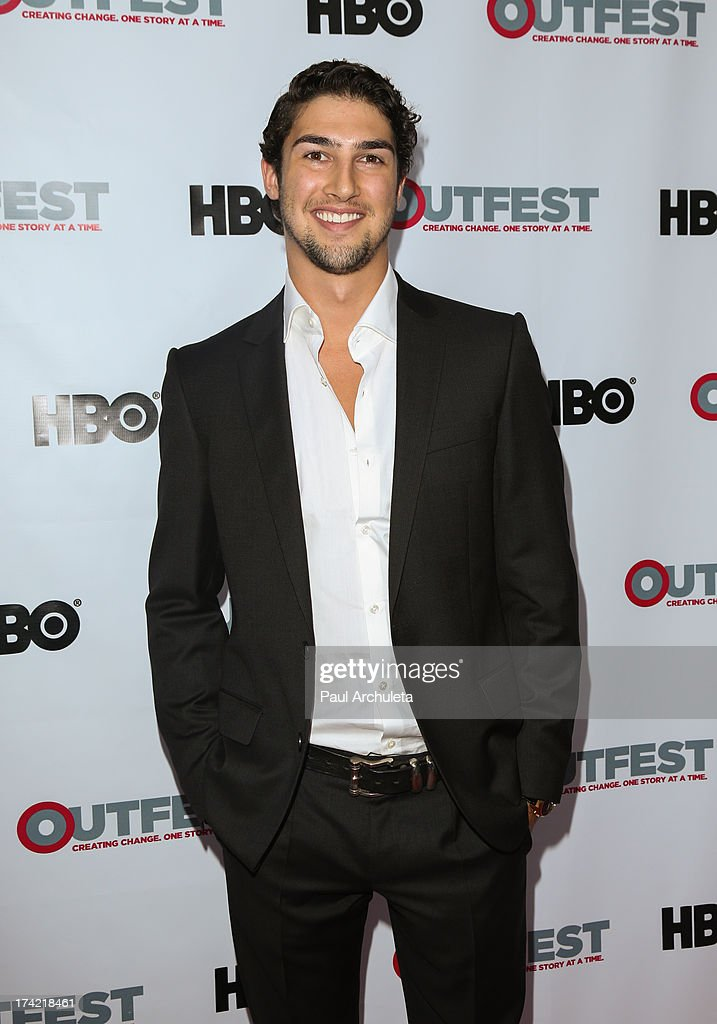 Actor Anthony Garland attends the screening of 'G.B.F.' at the 2013 Outfest film festival closing night gala at the Ford Theatre on July 21, 2013 in Hollywood, California.