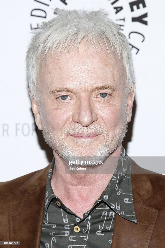 Actor <a gi-track='captionPersonalityLinkClicked' href=/galleries/search?phrase=Anthony+Geary&family=editorial&specificpeople=663634 ng-click='$event.stopPropagation()'>Anthony Geary</a> attends 'General Hospital celebrating 50 years and looking forward' at The Paley Center for Media on April 12, 2013 in Beverly Hills, California.