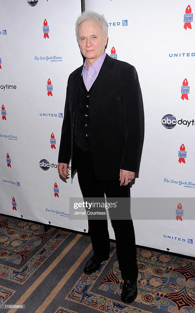 Actor <a gi-track='captionPersonalityLinkClicked' href=/galleries/search?phrase=Anthony+Geary&family=editorial&specificpeople=663634 ng-click='$event.stopPropagation()'>Anthony Geary</a> attends the 7th Annual ABC & SOAPnet Salute Broadway Cares/Equity Fights Aids Benefit closing celebration at The New York Marriott Marquis on March 13, 2011 in New York City.