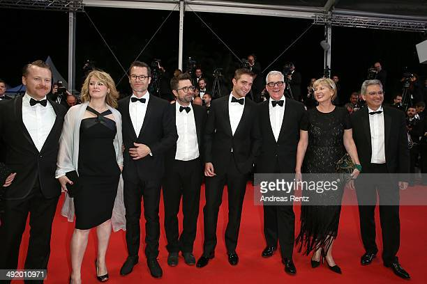 Actor Anthony Hayes Susan Prior actor Guy Pierce director David Michod actor Robert Pattinson producers David Linde Liz Watts and guest attend 'The...