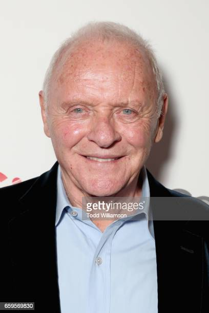 Actor Anthony Hopkins at CinemaCon 2017 Paramount Pictures Presentation Highlighting Its Summer of 2017 and Beyond at The Colosseum at Caesars Palace...