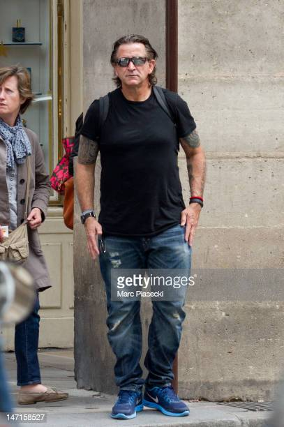 Actor Anthony LaPaglia is seen strolling on 'Rue de Castiglione' on June 26 2012 in Paris France