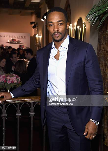 Actor Anthony Mackie attends Entertainment Weekly Celebration Honoring The Screen Actors Guild Awards Nominees presented by Maybelline at Chateau...